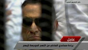 Former Egyptian president Hosni Mubarak has been sentenced to life in prison.