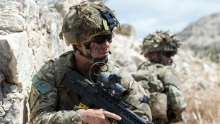 TA troops train for future conflict
