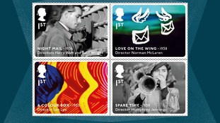 Royal Mail to issue British film classics on stamps