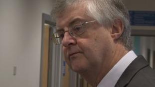 Welsh Health Minister Mark Drakeford.
