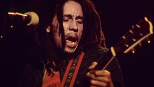 Reggae icon Bob Marley died in 1981.