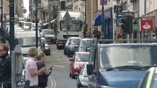 Aberystwyth town centre
