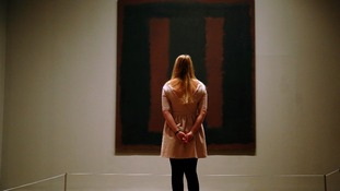 Mark Rothko painting goes back on display after vandalism