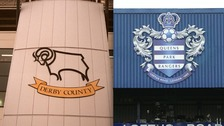 Derby County will face QPR at Wembley Stadium on May 24