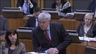 First Minister Carwyn Jones AM