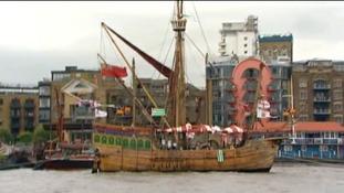 Matthew on River Thames