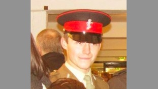 Soldier Joshua Brown was hit by a police car in 2012