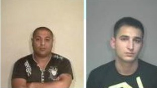 Janos Orsos and Ferenc Illes were jailed for human trafficking offences