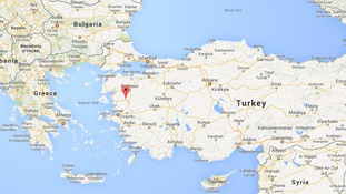 An explosion took place 2km underground at a mine in Soma in western Turkey