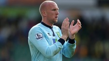 "Norwich City goalkeeper John Ruddy admits that he feels ""very hurt""."
