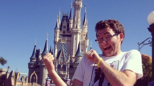 File photo of Stephen at Disneyland.