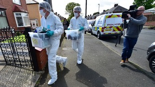 Forensics officers have been searching properties in North Shields and York.