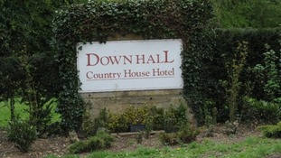 Down Hall Country House Hotel in Hatfield Heath, Essex.