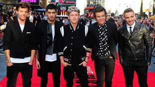 One Direction rise in the 2014 music rich list
