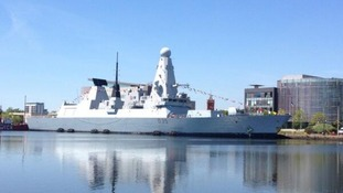 HMS Dragon: The 21st century warship at home in Cardiff Bay
