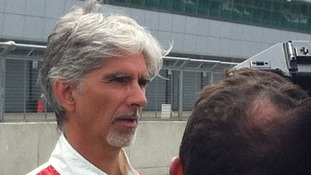 Damon Hill joined drivers past and present