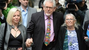 Rolf Harris denies 12 counts of indecent assault.