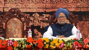 Dr. Manmohan Singh appears an isolated figure after Congress' election failure.