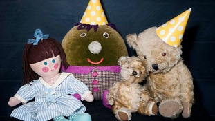 Play School toys, Jemima, Humpty, Little Ted and Big Ted.