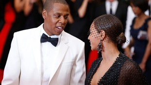 Jay Z and Beyonce at the Met Gala, where the alleged fight took place.