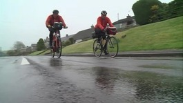 81-year-old completes cycle from Lands End to John O'Groats