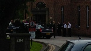 Family arrive for Ann Maguire's funeral