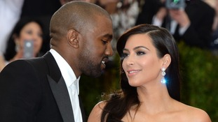 Kanye West and KIm Kardashian, aka Kimye.