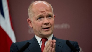 Foreign Secretary William Hague will attend a meeting with African leaders in Paris today.
