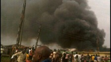 Nigerian plane crash in Lagos