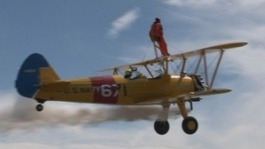 94-year-old wing walker heads high for Stephen Sutton