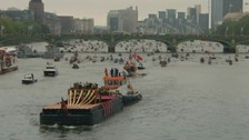 The Jubilee Pageant on the Thames