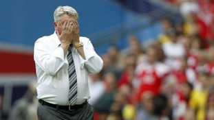 Steve Bruce praised his players in defeat
