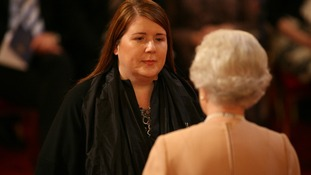 Professor Louise Wilson from London was made an OBE by The Queen at Buckingham Palace in 2008