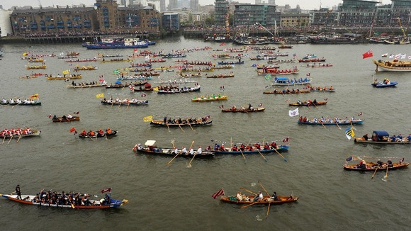 The river pageant