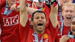 In pictures: A look back at Giggs' football career
