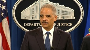 US Attorney General Eric Holder said the case indicates the threat cyber crime poses.