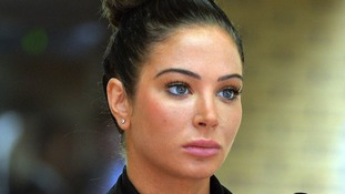Former X Factor judge Tulisa Contostavlos pictured in April.