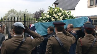 Hundreds line streets of Cowbridge for funeral of Captain Thomas Clarke