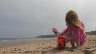 Sandhaven beach was one of four on Tyneside to achieve Blue Flag status.