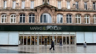 M&S shopfront