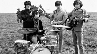 File photo dated 03/05/1965 of (left to right) John Lennon, Ringo Star, Paul McCartney and George Harrison