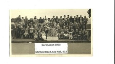 Coronation celebrations 1953 in Lea Hill, Birmingham