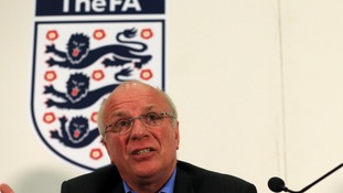 Greg Dyke speaking at an event last week