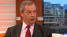 Farage: Trade Unions are trying to stop me speaking in public