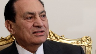 Hosni Mubarak was removed from power in 2011.
