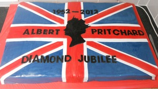 Diamond Jubilee cake for Albert Pritchard Infant School