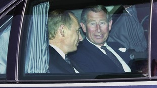 Has Prince Charles upset the Russian bear?