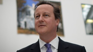 Prime Minister David Cameron on the election campaign trail.