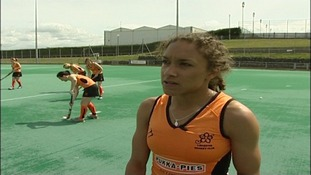 Hockey player Kerry Williams from Leicester will now play for England in the Olympic squad