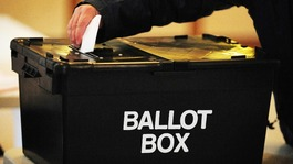 Council and European elections taking place today